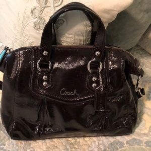 Beautiful Coach Patent Leather Bag